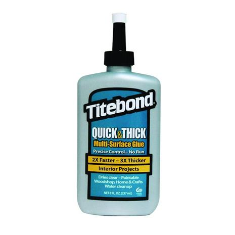 Titebond Quick & Thick Multi-Surface Glue; 237 ml