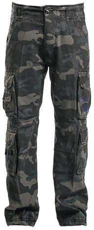 Brandit Pure Vintage Trousers Housut camo (tumma)