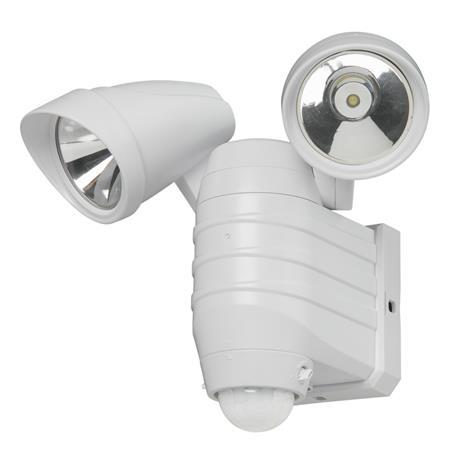 Energy+ LED-valaisin 2x2W liiketunnistimella