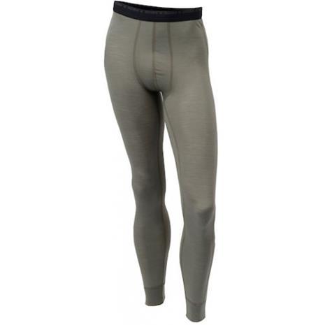 Aclima - Lightwool Longs, Miesten merinovillaiset pitkät alushousut, Musta, S