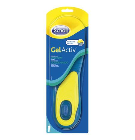 Scholl GelActiv Everyday Men, geelipohjallinen