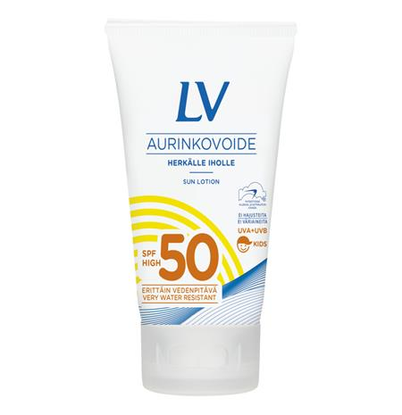 LV LV 75 ml SPF50 Aurinkovoide