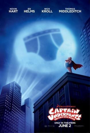 Captain Underpants: The First Epic Movie (2017), elokuva