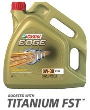 Castrol Edge 0W-30 A3/B4 4 l moottoriöljy