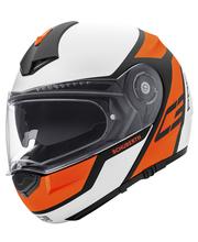 Schuberth C3 Pro Echo oranssi avattava kypärä