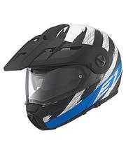 Schuberth E1 Hunter sininen avattava kypärä