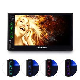 "auna MVD-470 autoradio 17,78 cm (7"""") näyttö bluetooth USB Touchscreen microSD"