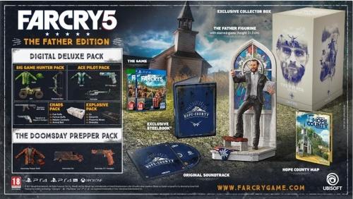 Far Cry 5 - Collector's Edition, Xbox One -peli