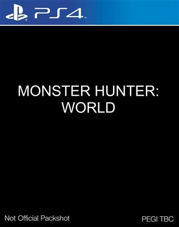 Monster Hunter World, PS4-peli