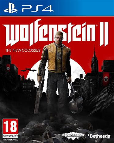 Wolfenstein II (2): The New Colossus, PS4-peli