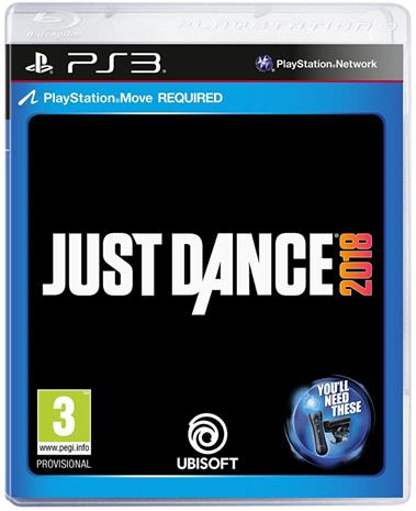 Just Dance 2018, PS3-peli