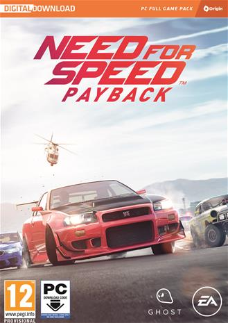 Need For Speed: Payback, PC-peli