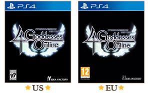 Cyberdimension Neptunia: 4 Goddesses Online, PS4-peli