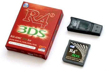 R4i SDHC Revolution Flashkit NDS/DSLite/DSi/XL/3DS, muistikortti