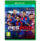 Pro Evolution Soccer 2018, Xbox One -peli