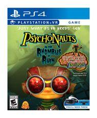 Psychonauts: In The Rhombus Of Ruin, PS4-peli