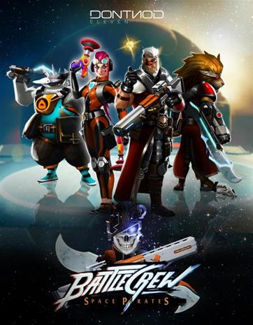 BATTLECREW Space Pirates, PC-peli