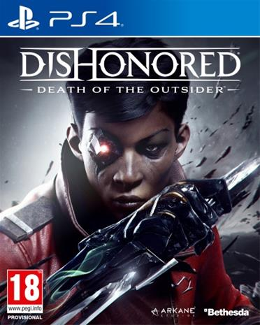 Dishonored: Death of the Outsider, PS4-peli