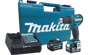 Makita DF332DSME 10,8V 2x4,0Ah, akkupora/ruuvinväännin
