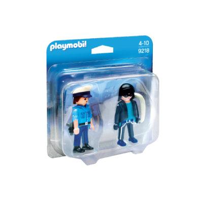 Playmobil 9218, City Life Poliisi ja pitkäkyntinen