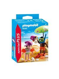 Playmobil Special PLUS 9085, Lapset rannalla