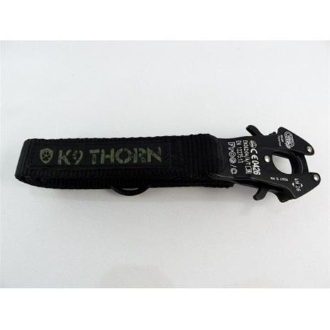 K9 Thorn Leash w/Kong - Black