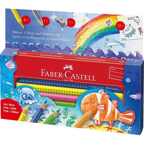 Faber-Castell - Jumbo GRIP set - Underwater World (110908)