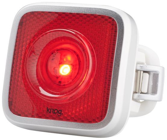 Knog Blinder MOB ajovalo punainen LED-valo , harmaa