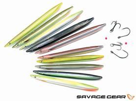 Savage Gear 3D LT Sandeel 15cm/27g Line-Thru, Väri 6