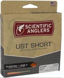 UST Short Shooting Head Sink 7 - Sink 8 ampumapää Scientifig Anglers