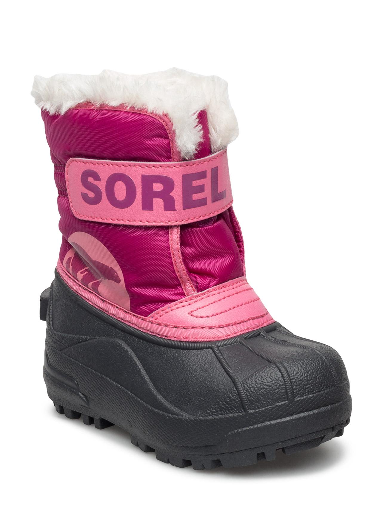 Sorel Childrens Snow Commander TROPIC PINK DEEP BLUSH  664801bdf7
