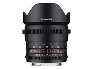 Samyang 16mm T2.6 VDSLR ED AS UMC, objektiivi
