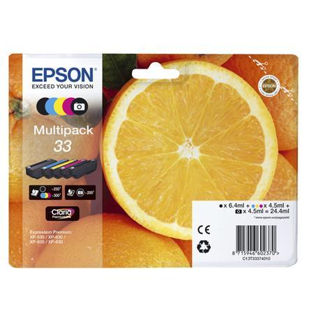 Epson 33 musta, mustekasetti