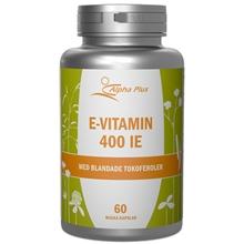 E-vitamin 400IE 60 kapselia
