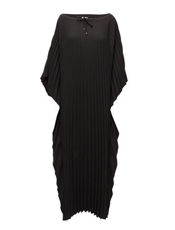 Filippa K Poncho Plise Dress BLACK