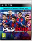 Pro Evolution Soccer 2018, PS3-peli