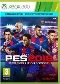 Pro Evolution Soccer 2018, Xbox 360 -peli