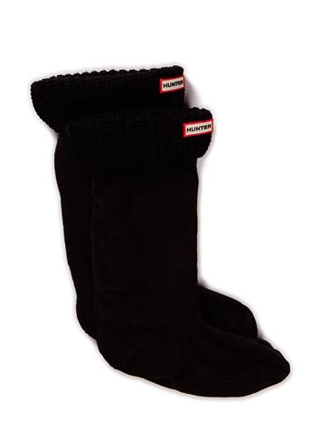 Hunter Hunter Half Cardigan Boot Sock BLACK