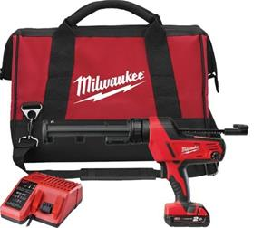 Milwaukee C18 PCG 310-201B (4933441310) 18V 1x2,0Ah 310ml, akkumassapuristin