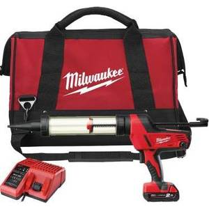 Milwaukee C18 PCG 600A-201B (4933441305) 18V 1x2,0Ah 600ml, akkumassapuristin