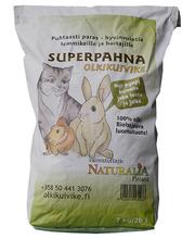 Naturalia Superpahna 7 kg olkikuivike pieneläimille