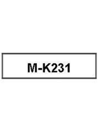 Brother M-K231, mustekasetti