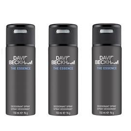 David Beckham - 3x The Essence Deodorant Spray 150 ml