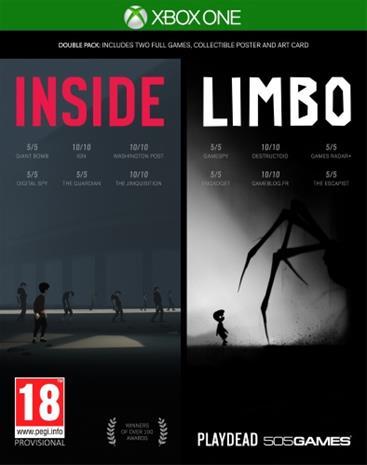 Inside - Limbo Double Pack, Xbox One-peli