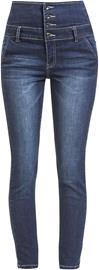 Forplay High Waist Denim Jeans Naisten farkut tummansininen