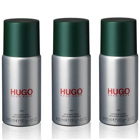 Hugo Boss - 3x Hugo Man Deodorant Spray 150 ml