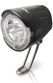 XLC LED-ajovalo ajovalo 20 Lux , musta/läpinäkyvä