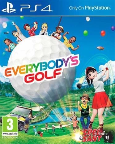 Everybody's Golf, PS4-peli