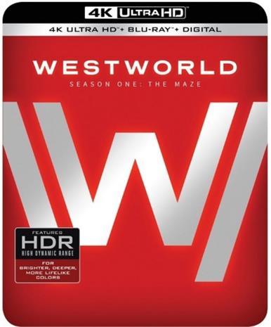 Westworld: Kausi 1 (4k UHD + Blu-Ray), TV-sarja