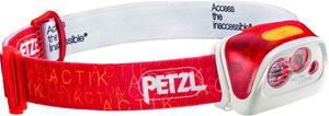 Petzl Actik Core Otsalamppu , punainen/valkoinen